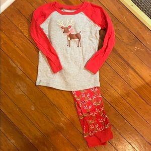 American Girl Holiday Reindeer PJs